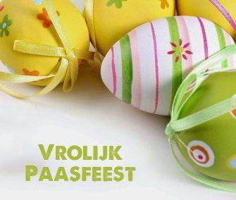 De Paashaas serveert u een lekker Paasontbijt op 11 -12- en 13 april 2020